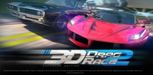 Drag race 3D 2: Supercar edition