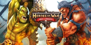 Heroes of War: Orcs vs Knights