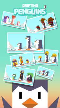 Drifting Penguins