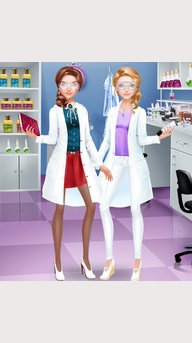 Scientist Girls Fashion Salon