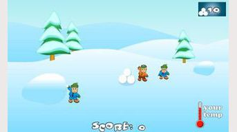 SnowBall Fight Winter Game HD
