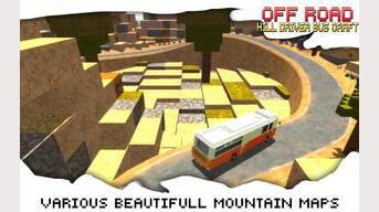 Off-Road Hill Driver Bus Craft