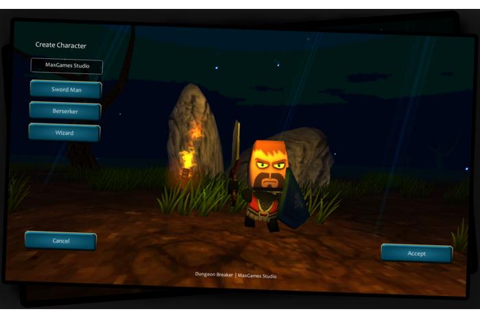 Скачать взломанную версию игры Dungeon Breaker Online Pro v 1.