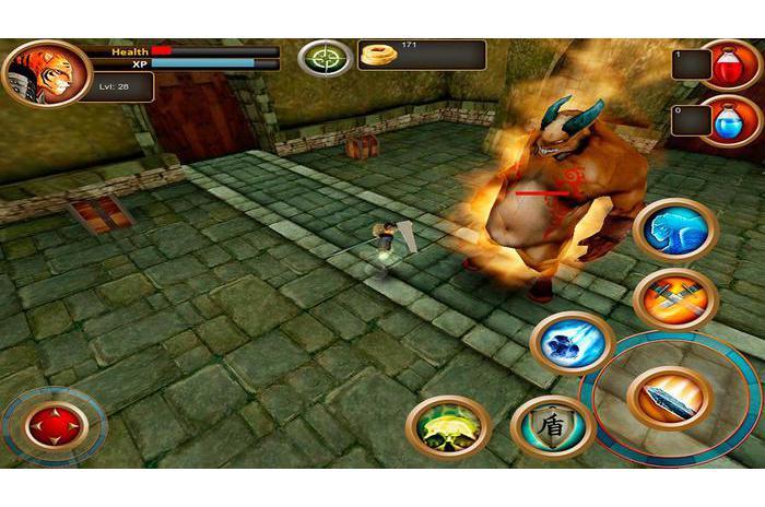 Игра взломанный Samurai Tiger на Андроид предлагает побывать в роли весьма